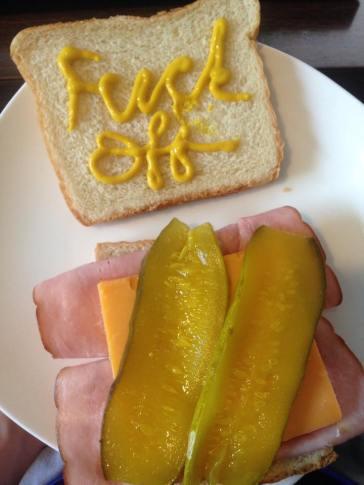 fuck off sandwich